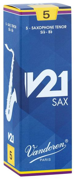 Vandoren V21 Tenor Saxophone Reeds (Box of 5)