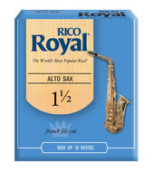 Rico Royal Alto Saxophone Reeds (Box of 10)