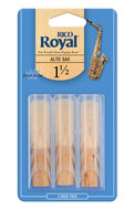 Rico Royal Alto Saxophone Reeds (Triple Pack)
