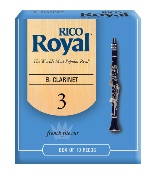 Rico Royal Eb Clarinet Reeds (Box of 10)