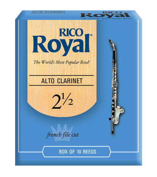 Rico Royal Alto Clarinet Reeds (Box of 10)