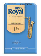 Rico Royal Baritone Saxophone Reeds (Box of 10)