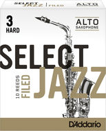 D'Addario Select Jazz Filed Alto Sax Reeds (Box of 10)