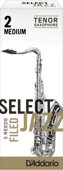 D'Addario Select Jazz Filed Tenor Saxophone Reeds (Box of 5)