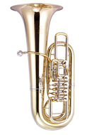 JP379FFS STERLING Rotary Tuba FF In Silver Plated