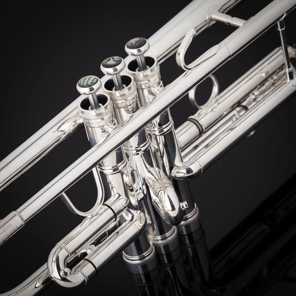 John Packer JP351SW HW Bb Trumpet Silverplate (EX DEMO A)