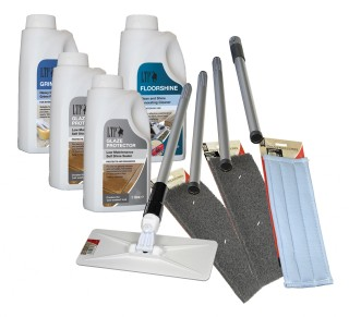 Care & Cleaning Kit for Glazed Ceramic & Porcelain