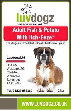 Fish & Potato With Itch-Eeze ®