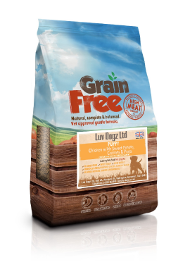 Grain Free Puppy 60% Meat