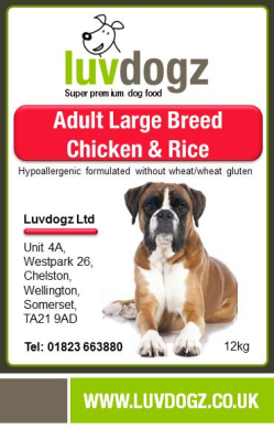 Large Breed Chicken & Rice