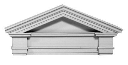 Door Pediment - Resin