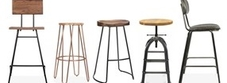 Industrial Style Stools