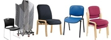 Anti Bacterial Stacking and Visitors Chairs