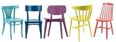 Coloured Restaurant Chairs