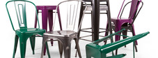 All Metal Pub and Bar Chairs