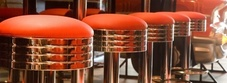 Pub and Bar Leather High Stools
