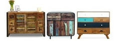 Retro & Distressed Storage