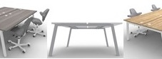 Alumina & Integral Urban Bench Desks