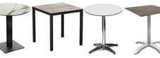 Tables with Compact Laminate Tops (HPL)