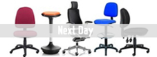 Next Day Fabric Operator Chairs