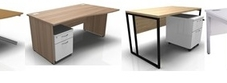 Desks with Mobile Drawers