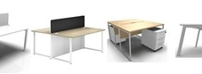 Two Person Bench Desks