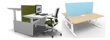 Height Adjustable Multi Person Desks