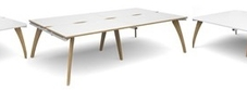 Fuza Designer Bench Desks