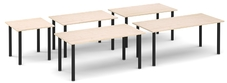 Radial Modular Tables