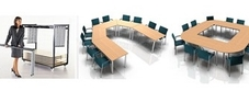 Folding Meeting and Conference Tables