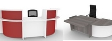 Budget Reception Desks