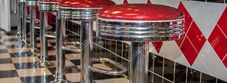 Floor Fixed Bar stools