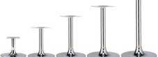Chrome Cafe Table Bases