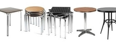 Outdoor Aluminium Tables