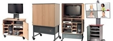 Audio Visual Cupboards