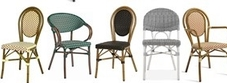Outdoor Continental Rattan Chairs