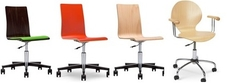 Wooden Office Swivel Chairs