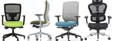 Assembled Mesh Office Chairs