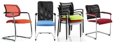 Mesh Visitors Office Chairs