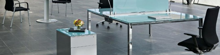 Vital Glass Boardroom Table