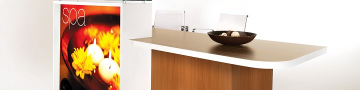 Evo Light Reception Desks