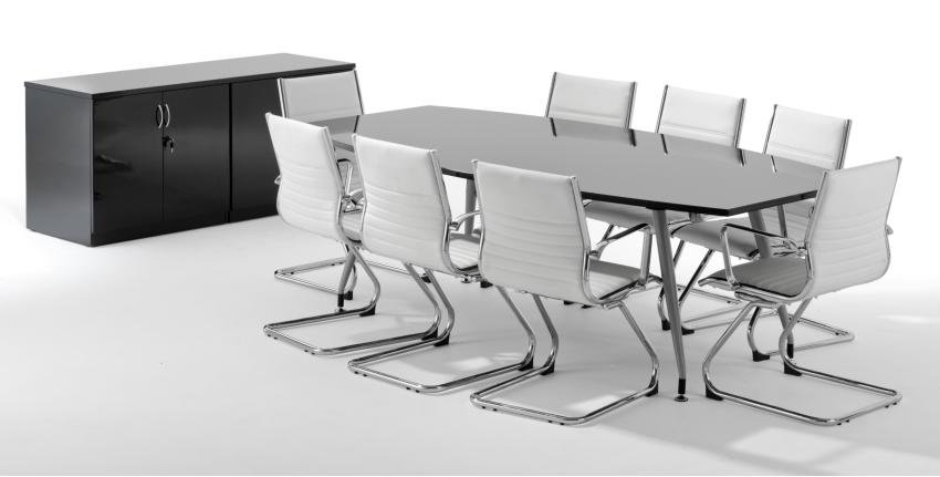Swell Opal High Gloss Boardroom Tables Online Reality Interior Design Ideas Clesiryabchikinfo