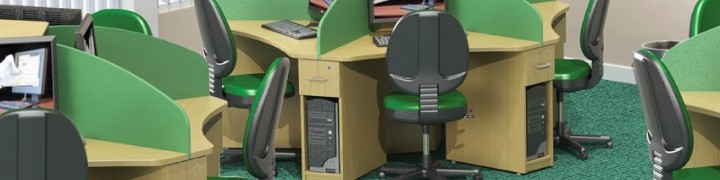 Zodiac Call Centre Desks
