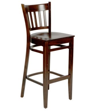 Hampshire Traditional Wooden Bar Stool