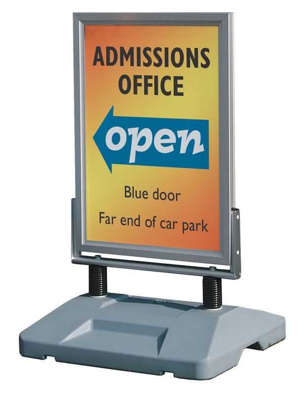 An image of Sprung Pavement Signs - 1524mm x 1016mm