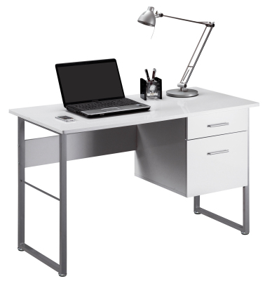 Spirit White Office Desk
