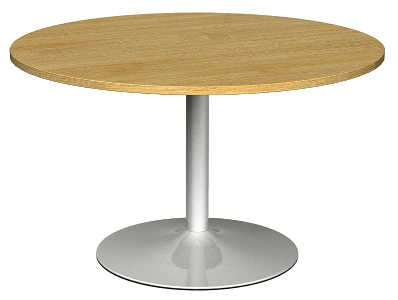Round Table For 4 Diameter: Circular Meeting Table From Tempest.