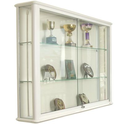 Wall Mounted Gl Display Cabinets From Newlands 1000mm X