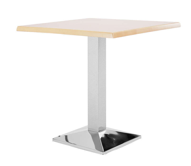 An image of Western Chrome Cafe Tables - 600mm square