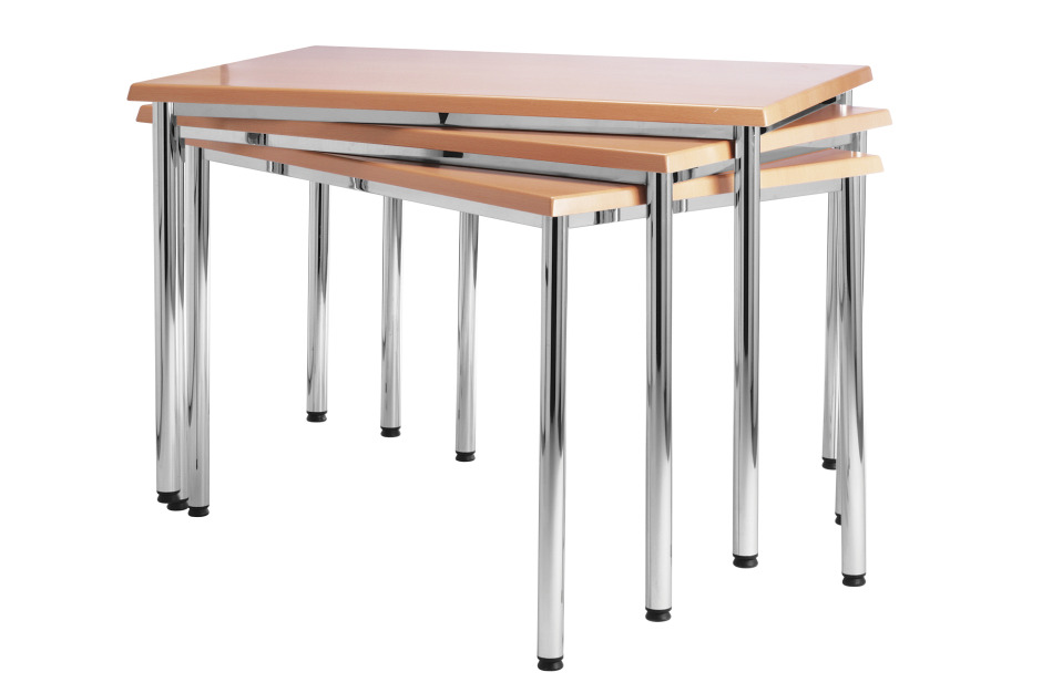An image of Brecon Square and Rectangular Tables - 1000mm x 600mm rectangular